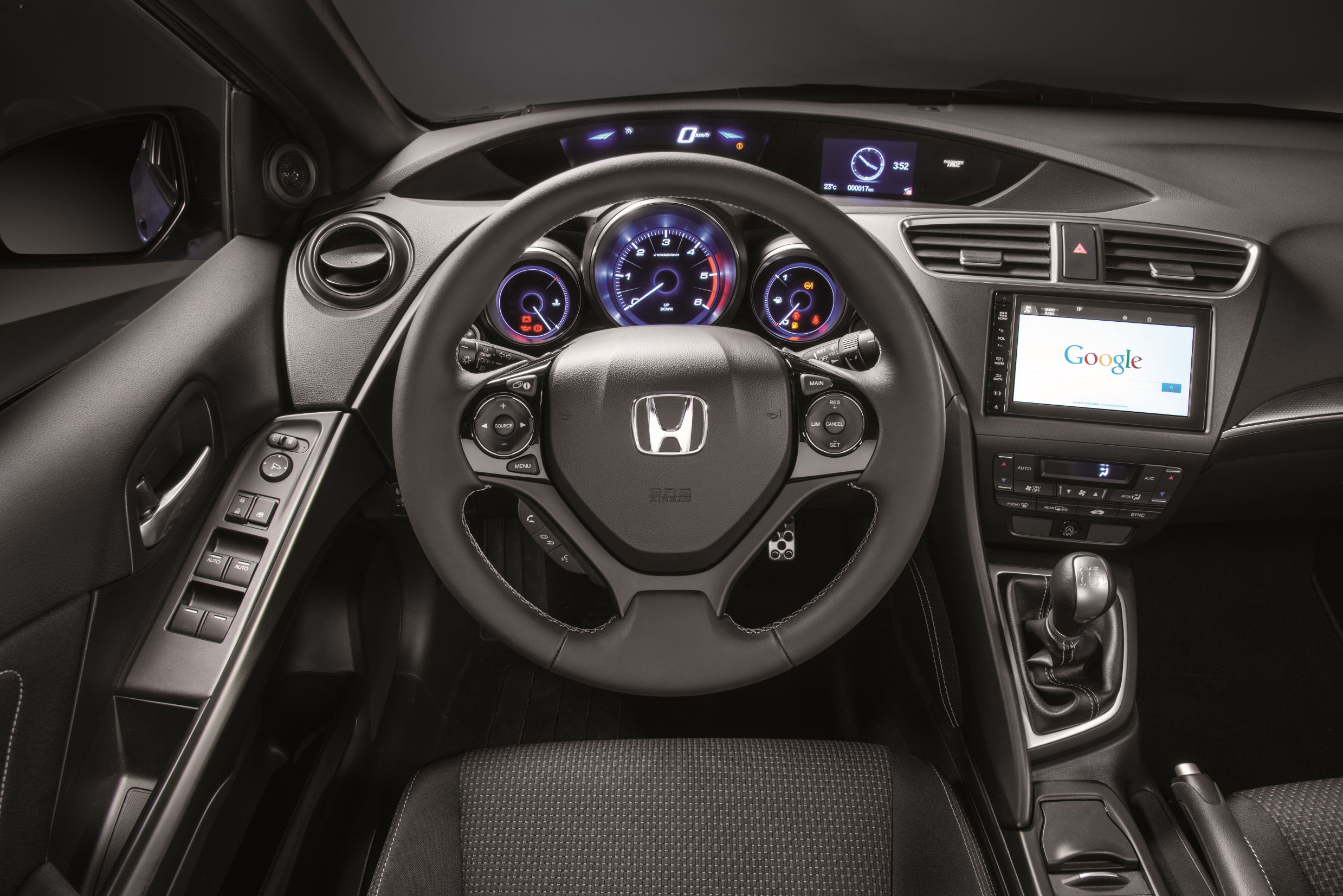 17 CIVIC SPORT INTERIOR